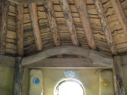 Round Timber Roof